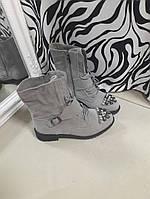 Ботинки Эко замш Еврозима, фото 1
