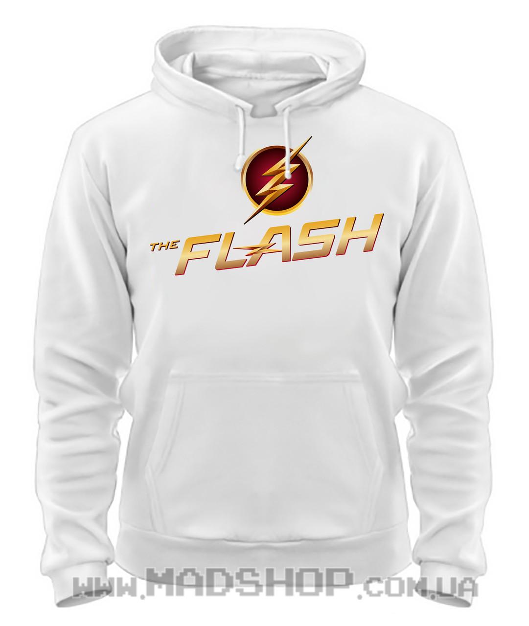 Толстовка Флэш Flash logo