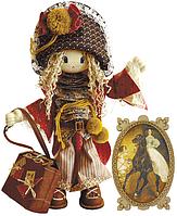 """Набор для шитья игрушки Текстильная каркасная кукла  """"Миледи"""" К1026"""