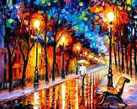 Картины по номерам 40 х 50 см. Дождливая осень.
