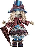 """Набор для шитья игрушки Текстильная каркасная кукла """"Мэри"""" К1027"""