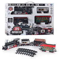 Детская железная дорога Эра паровозов 701830 R/YY 126 от Limo Toy