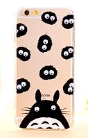 Силиконовый чехол Заяц с бегающими глазками для Iphone 5/5S