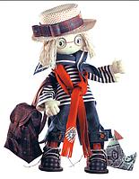 """Набор для шитья игрушки Текстильная каркасная кукла  """"Том""""К1029"""