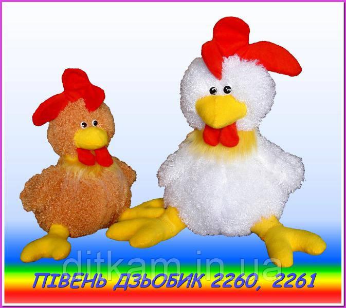 Мягкая игрушка Петух Дзьобик (20см)
