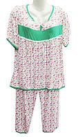 Пижама женская на байке батал