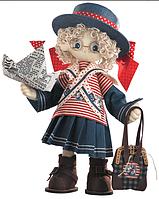 """Набор для шитья игрушки Текстильная каркасная кукла  """"Бэкки"""" К1030"""