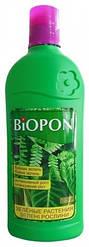 Удобрение для зелёных растений BIOPON 0,25 л