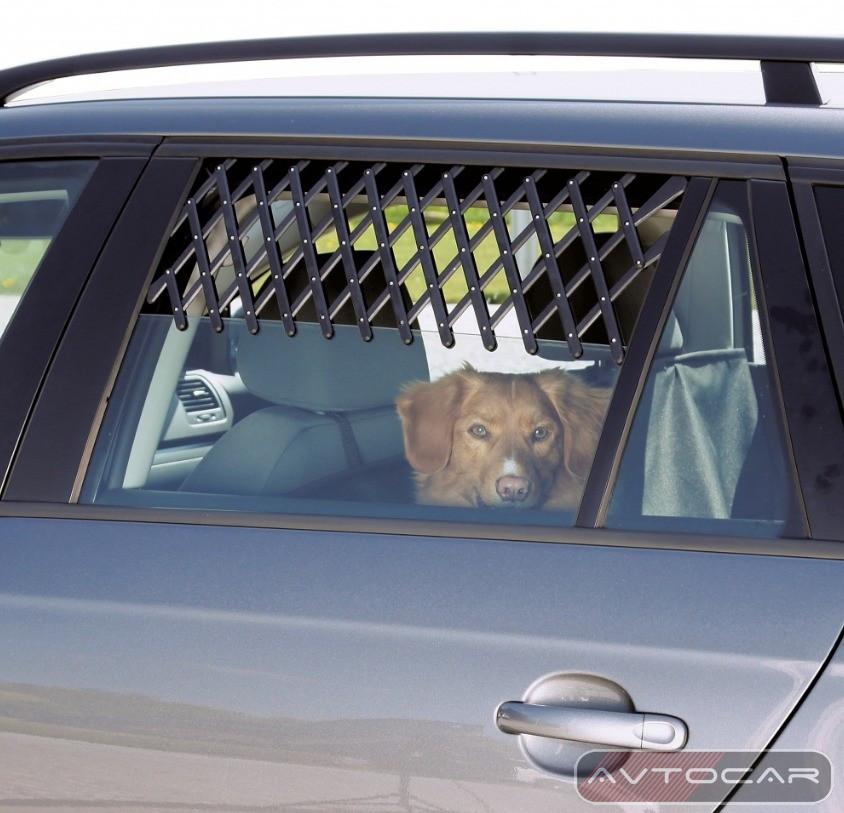 Решетка на автомобильное окно Trixie ✓ цвет: черный