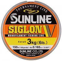 Леска Sunline Siglon V 30м #0.4/0.104мм 1кг