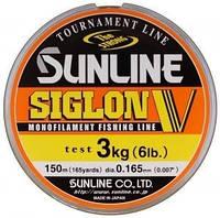 Леска Sunline Siglon V 30м #0.6/0.128мм 1.5кг