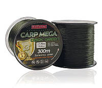Леска BratFishing Carp Mega Dark Green 300м 0,45мм