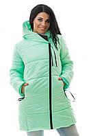 Куртка на синтепоне зимняя женская 48, 50, 52