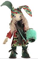 """Набор для шитья игрушки Текстильная каркасная кукла """"Зайчиха мама""""К1033"""