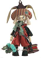 """Набор для шитья игрушки Текстильная каркасная кукла """"Зайчонок""""К1034"""