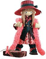 """Набор для шитья игрушки Текстильная каркасная кукла  """"Шоколадница мама"""" К1035"""