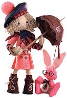 """Набор для шитья игрушки Текстильная каркасная кукла """"Шоколадница бэби"""" К1036"""