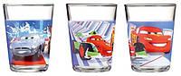 Disney Cars 2 набор стаканов детских низких 160 мл - 3 шт Luminarc h1493