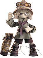"Набор для шитья игрушки Текстильная каркасная кукла ""Сафари. Брат 1"" К1041"