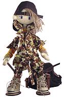 "Набор для шитья игрушки Текстильная каркасная кукла ""Сафари. Брат 2"" К1042"