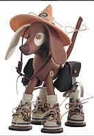 """Набор для шитья игрушки Текстильная каркасная кукла """"Сафари. Дружок"""" К1043"""