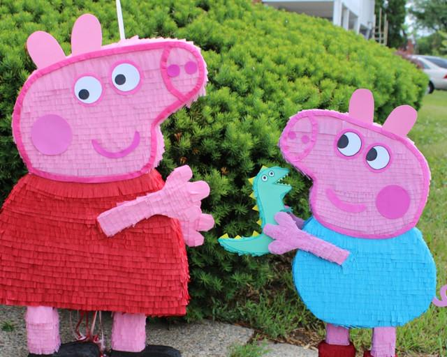 иньяты Киев, аниматоры на день рождения ребенка,свинка Пеппа