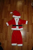 Санта Клаус ,Дед Мороз  детский карнавальный костюм ,детский новогодний костюм  6- 9 месяцев