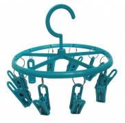 Вешалка -вертушка для сушки мелкого белья на 10 прищепок