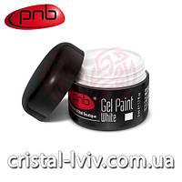 Гель краска PNB №001 (white)