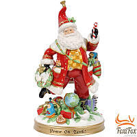 Сувенир фарфоровый Дед Мороз с подарками