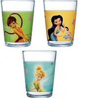 Disney Fairies набор стаканов детских низких 160 мл - 3 шт Luminarc h5836