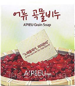 Мыло скраб для удаления черных точек A'PIEU Grain Soap Blackheads & Sebum Removal 90г