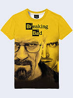 Футболка 3D BREAKING BAD