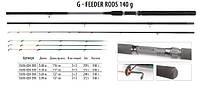 Фидер BratFishing G-Feeder Rods 3,6m (up to 140g)