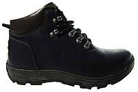 Мужские ботинки Detta, кожа, натуральный мех, фото 1