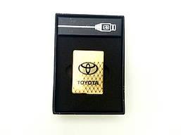 Электроимпульсная зажигалка TOYOTA (USB) Маленькая