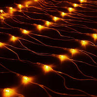 Гирлянда Сетка светодиодная, желтый 240 LED 2х2 м