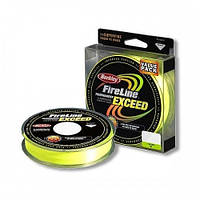 Шнур Berkley Fireline Exceed Green 0.25мм (110м)