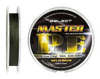 Шнур Select Master PE 100м 0.06мм 9кг (тёмно-зелёный)