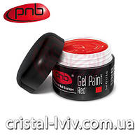 Гель краска PNB №003 (red)