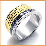 Мужское кольцо - сталь 20р.