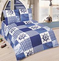Постельное белье для малышей в кроватку поплин Мореход