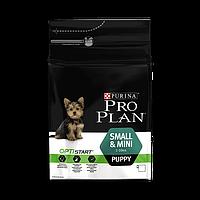 Корм для щенков мелких и карликовых пород, 3кг Pro Plan Puppy Small and Mini