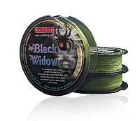 Шнур BratFishing Black Widow Yellow 125м 0,19мм