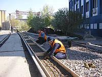 Строительство дорожных покрытий из ж/б плит