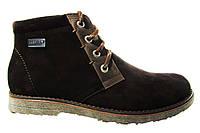 Мужские ботинки Madoks, турецкая кожа, коричневые Р. 41 42 43 44