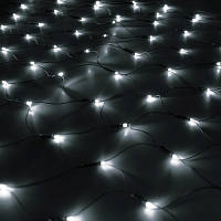 Гирлянда Сетка светодиодная, белый 240 LED 2х2 м