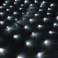Гирлянда Сетка светодиодная 2х2 м, цвет: холоднй белый 240 LED