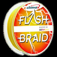 Шнур Climax Flash Braid Yellow 100м (упакованный) 0.18мм