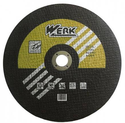 Круг отрезной WERK 350х3.5х25.4 мм, фото 2